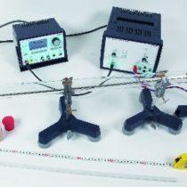 Kompletny zestaw eksperymentalny: Pomiar prędkości dźwięku rurą Kundta