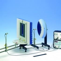 Kompl.zest.eksp.Dyfrakcja ultradźwięków na różnych systemach szczelin pojedynczych i podwójnych