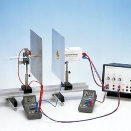 Kompl.zest.eksp.Pola i ładunki elektr. w kondensatorze płytowym