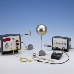 Kompl.zest.eksp. Pojemność elektryczna kuli metalowej i kondensatora kulistego