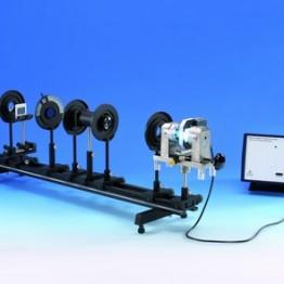Kompl.zest.eksp. Efekt Zeemana z zmiennym układem magnetycznym, kamerą CCD i oprogramowaniem pomiarowym