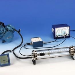 Kompl.zest.eksp. Badanie energii promieniowania alfa Ra-226 z analizatorem wielokanałowym