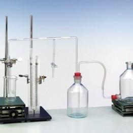 Kompl.zest.eksp. Wyznaczanie napięcia powierzchniowego czystych cieczy za pomocą metody maksymalnego ciśnienia w pęcherzykach