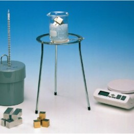 Kompletny zestaw eksperymentalny Ciepło właściwe metali