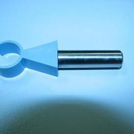 Klema zaciskowa na wsporniku, d=16mm.