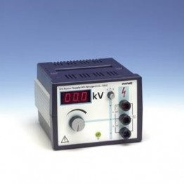 High voltage supply unit, 0-10 kV, less than 2 mA