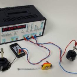 Kompletny zestaw eksperymentalny Prędkosc dzwieku w powietrzu