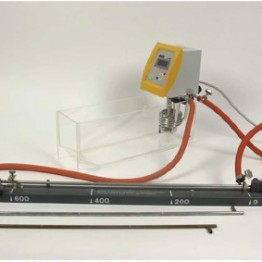 Kompletny zestaw eksperymentalny Rozszerzalnosc cieplna ciał stałych