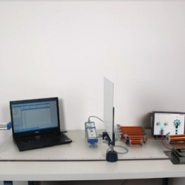 Kompletny zestaw eksperymentalny Pole magnetyczne pojedynczej cewki prawo Biota Savarta z wykorzystaniem Cobra 4