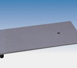Płyta statywu, 21 x 13 cm, M10, odlew