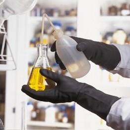Rękawice laboratoryjne Neoprene, średnie