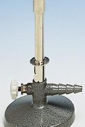Palnik Bunsena, gaz ziemny, reg. powietrza