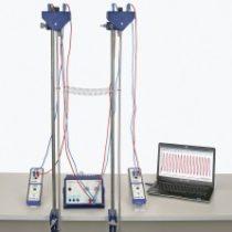 Kompletny zestaw eksperymentalny: Wahadła sprzężone z zastosowaniem measure Dynamics