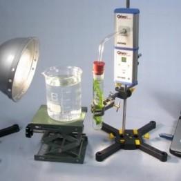 Kompletny zestaw eksperymentalny Fotosynteza (pomiar ciśnienia O2) z Cobra4