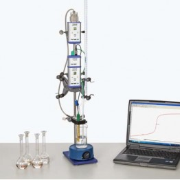 Kompletny zestaw eksperymentalny Równowaga reakcji dysocjacji (z Cobra 4)