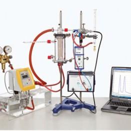 Kompletny zestaw eksperymentalny Chromatografia gazowa z Cobra4
