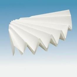Filtr fałdowany, jakościowy, 185 mm, 100 szt.