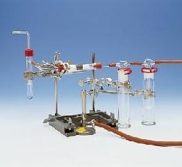 Kompl. zest. eksp. Spalanie amoniaku podczas wytwarzania dwutlenku azotu - metoda Ostwalda