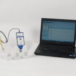 Kompl. zest. eksp. Współczynnik pH różnych próbek wody z Cobra4