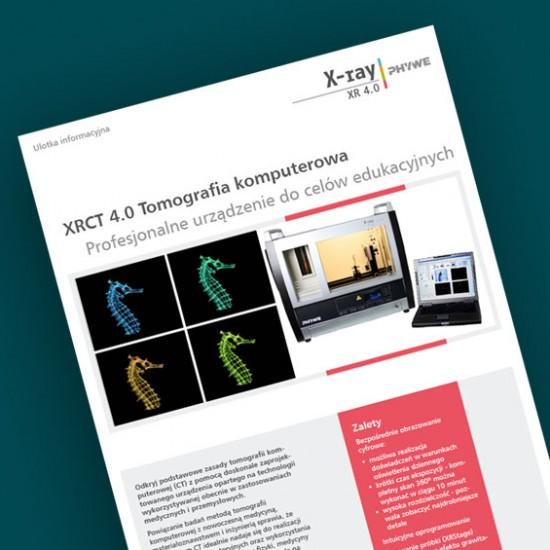 Edukacyjny tomograf komputerowy XRCT 4.0