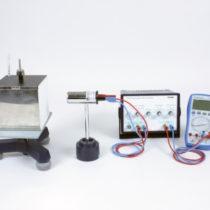 Kompletny zestaw eksperymentalny: Zdolność emisyjna ciał gorących (kubek Lesliego)