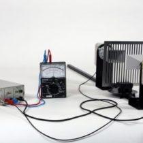 Kompletny zestaw eksperymentalny: Polaryzacja mikrofal