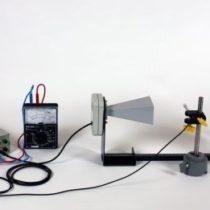 Kompletny zestaw eksperymentalny: Stojące mikrofale