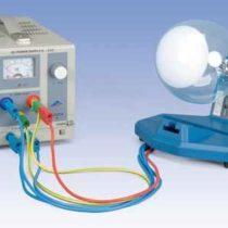 Kompletny zestaw eksperymentalny: Dyfrakcja elektronów
