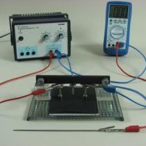 Kompletny zestaw eksperymentalny: Niejednorodne pole elektryczne (pola dipola)