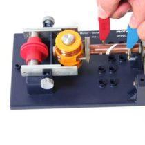 Kompletny zestaw eksperymentalny: Komutator
