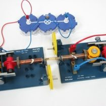 Kompletny zestaw eksperymentalny: Generator jako silnik