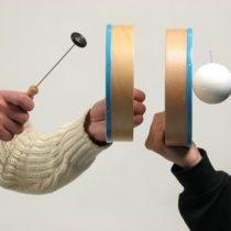 Kompletny zestaw eksperymentalny: Rozchodzenie się dźwięku w powietrzu