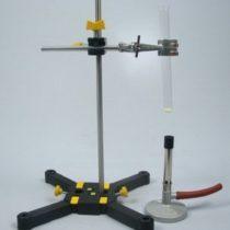 Kompletny zestaw eksperymentalny: Właściwości materii: palność, temperatura topnienia