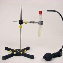 Kompletny zestaw eksperymentalny: Zasada działania zbiornika napowietrzającego (oczyszczalnia ścieków)
