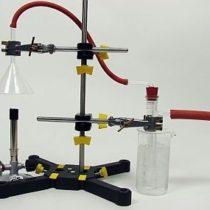 Kompletny zestaw eksperymentalny: Woda jako tlenek