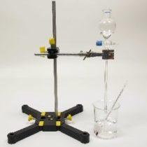 Kompletny zestaw eksperymentalny: Niebezpieczeństwo związane z wykorzystaniem stężonego kwasu siarkowego (VI)