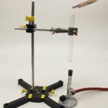 Kompletny zestaw eksperymentalny: PVC jako potencjalne źródło kwasu chlorowodorowego