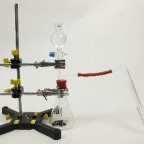 Kompletny zestaw eksperymentalny: Utlenianie kwasu siarkowego (IV)