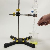 Kompletny zestaw eksperymentalny: Otrzymywanie soli w wyniku reakcji kwasu i zasady (zobojętnianie)