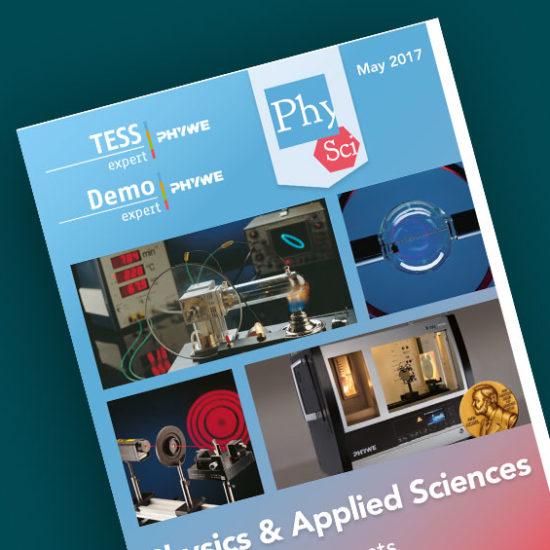 Katalog TESS / DEMO expert: Fizyka i nauki stosowane 2017 [eng]