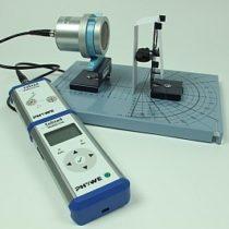 Kompletny zestaw eksperymentalny: Wpływ odległości żródła na natężenie promieniowania
