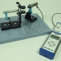 Kompletny zestaw eksperymentalny: Ugięcia promieniowania beta w polu magnetycznym