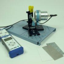 Kompletny zestaw eksperymentalny: Rozpraszanie wsteczne promieniowania beta