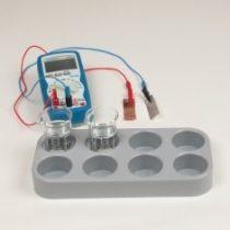 Kompletny zestaw eksperymentalny: Ogniwo Volty
