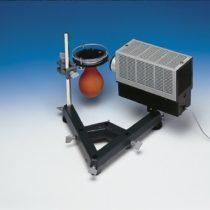 Kompletny zestaw eksperymentalny: Wykrywanie promieniowania radioaktywnego komorą Wilsona
