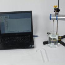 Kompletny zestaw eksperymentalny: Ciśnienie hydrostatyczne z wykorzystaniem Cobra4