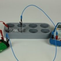 Kompletny zestaw eksperymentalny: Ogniwo cynkowo-tlenowe