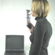 Kompletny zestaw eksperymentalny: Jak dużo powietrza mogą zawierać płuca - pomiar za pomocą Cobra4 (spirometria)