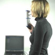Kompletny zestaw eksperymentalny: Bezpośrednie wyznaczanie objętości płuc ze spirogramu