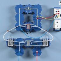 Kompletny zestaw eksperymentalny: Charakterystyka prądowo-napięciowa i moc ogniwa paliwowego PEM